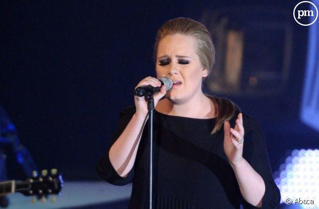 Adele aux Echo Music Awards à Berlin en mars 2011