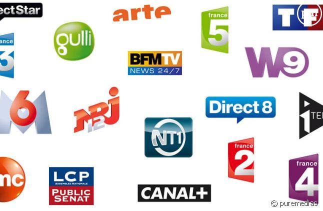Les chaînes de la TNT.