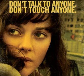 Marion Cotillard sur une affiche promotionnelle de...