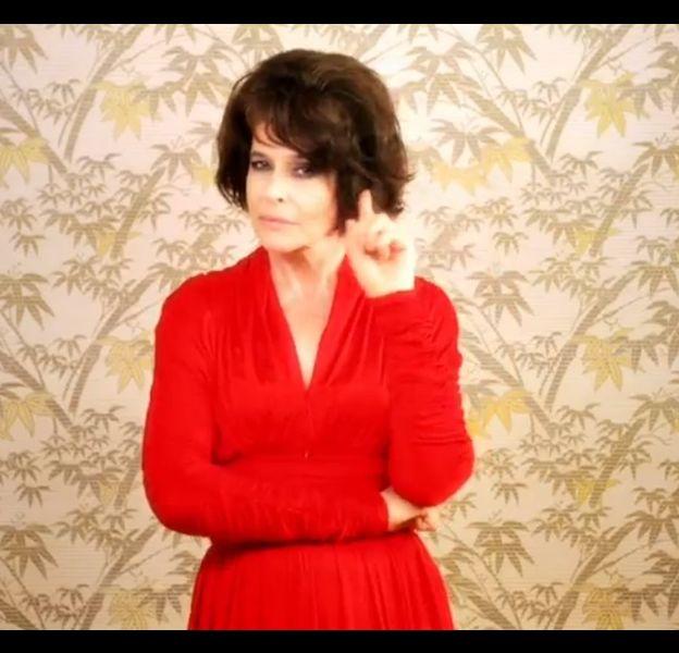 """Fanny Ardant dans le clip """"Elle me dit"""" de Mika"""