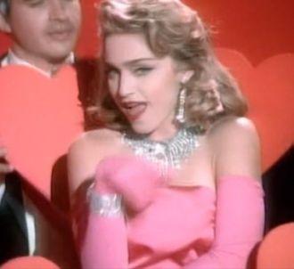 Le clip 'Material Girl' de Madonna