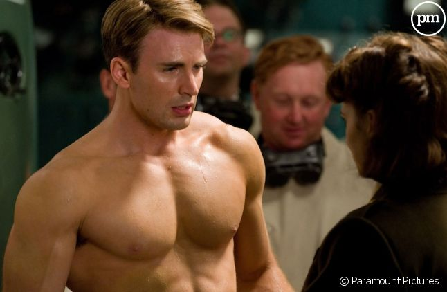 "Chris Evans dans ""Captain America : First Avenger"""