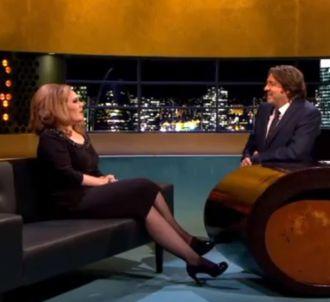 Adele répond aux questions de Jonathan Ross et chante...