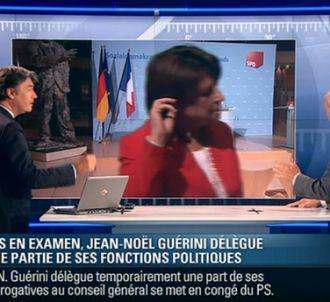 <div>Martine Aubry met fin prématurément à un entretien...
