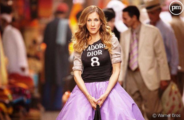 """Sarah Jessica Parker est Carrie Bradshaw dans """"Sex and the City 2"""""""