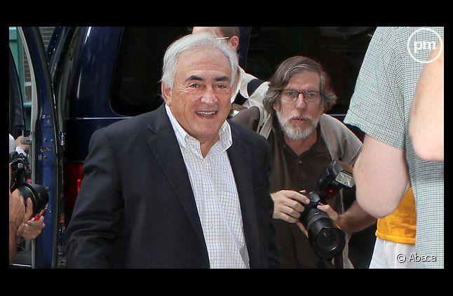 Dominique Strauss-Kahn, le 3 septembre 2011 à Paris.