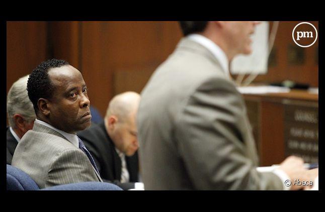 Le docteur Conrad Murray lors de son procès