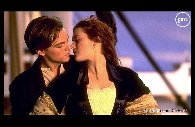 "Leonardo DiCaprio et Kate Winslet dans ""Titanic"""