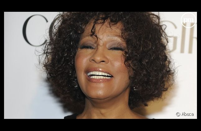 Whitney Houston, en octobre 2010