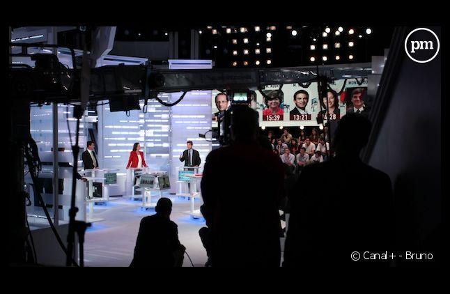 Un des débats de la primaire socialiste, le 28 septembre 2011, sur i-Télé