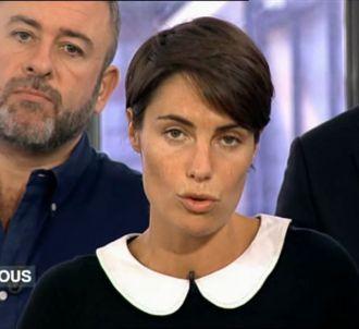 Mercredi soir, Alessandra Sublet a rendu hommage à Muriel...