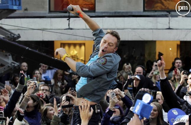 Chris Martin, le chanteur de Coldplay