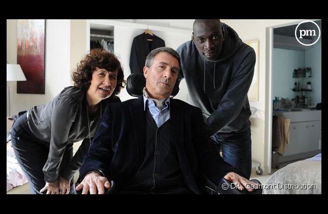 """Le film """"Intouchables"""" avec Omar Sy et François Cluzet."""