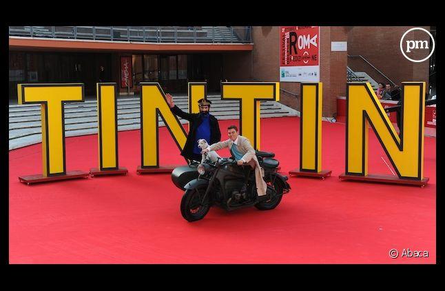 """Une avant-première du film """"Les Aventures de Tintin : le secret de la Licorne"""""""