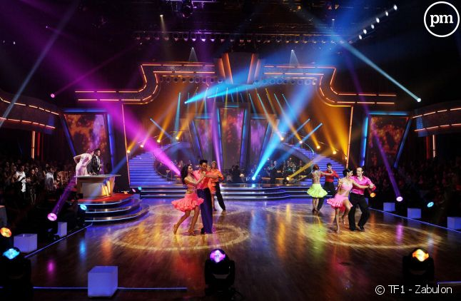 """Le plateau de l'émission """"Danse avec les stars"""" sur TF1"""