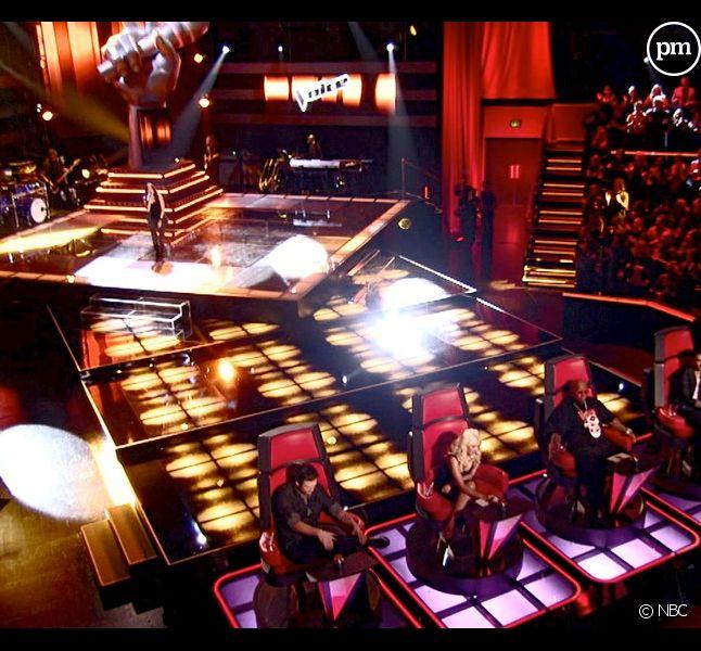 """Le plateau américain de """"The Voice"""" sur NBC"""