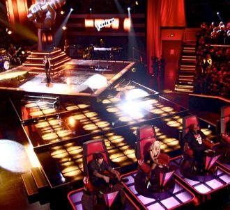 Le plateau américain de 'The Voice' sur NBC