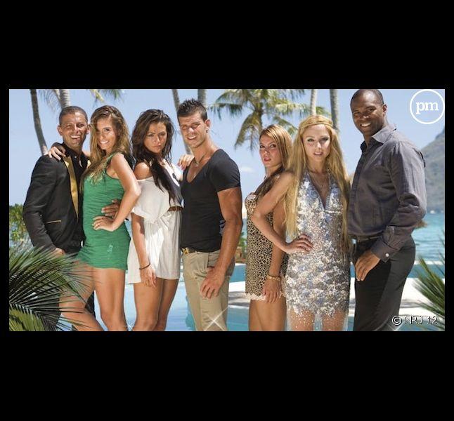 """Les participants de la télé-réalité """"L'Île des vérités"""" sur NRJ 12"""