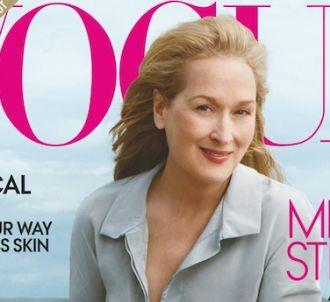 Meryl Streep en Une du Vogue américain