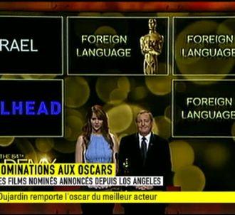 Jean Dujardin remporte l'Oscar.