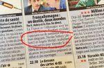 """""""Dehors !"""" : l'appel de Télé 2 Semaines à Nicolas Sarkozy dans ses pages programmes"""