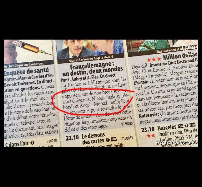 """Le magazine """"Télé 2 Semaines"""" du 11 au 24 février 2011."""