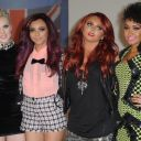 Les Little Mix sur le tapis rouge des Brit Awards 2012