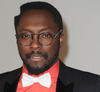 will.i.am sur le tapis rouge des Brit Awards 2012