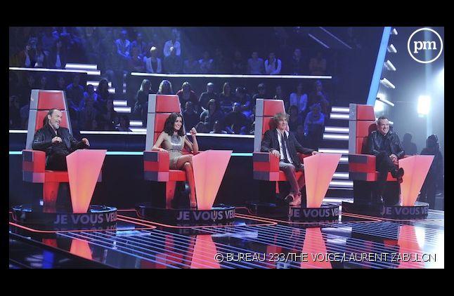 """Florent Pagny, Jenifer, Louis Bertignac et Garou, coachs de """"The Voice"""""""