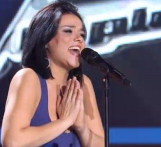 Sonia Lacen dans 'The Voice'