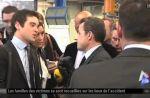 "Nicolas Sarkozy traite un journaliste de ""couillon"""