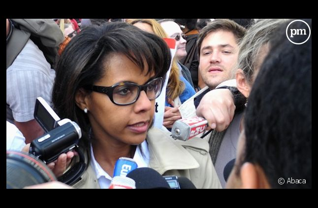 La journaliste Audrey Pulvar.