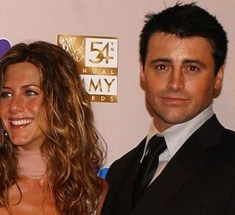 Jennifer Aniston et Matt LeBlanc en 2002