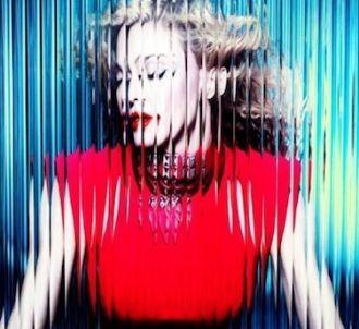 Madonna sur la pochette de 'MDNA'