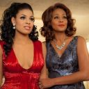 """Whitney Houston et Jordin Sparks sur le tournage de """"Sparkle"""""""