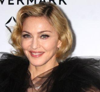 Madonna lors de la promotion de 'W.E.'