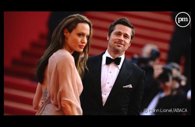 Angelina Jolie et Brad Pitt au Festival de Cannes en 2009