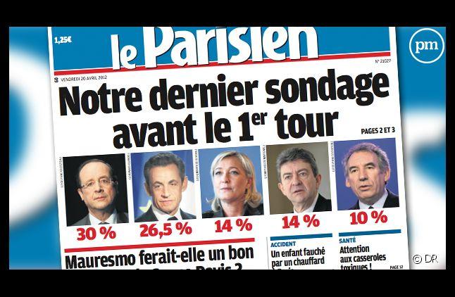 Le Parisien/Aujourd'hui en France daté du 20 avril 2012.