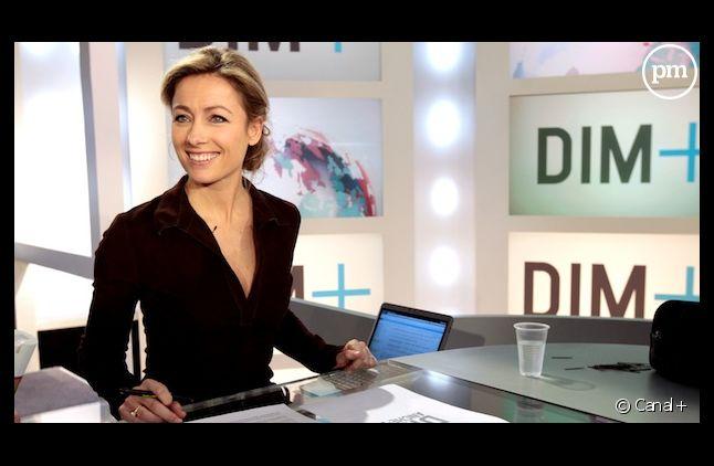 Anne-Sophie Lapix, meilleur intervieweur télé selon un sondage du <em>Parisien</em>