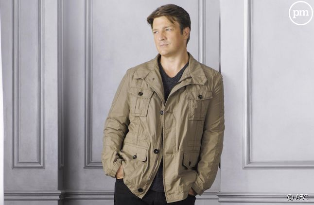 "Nathan Fillion dans ""Castle"""