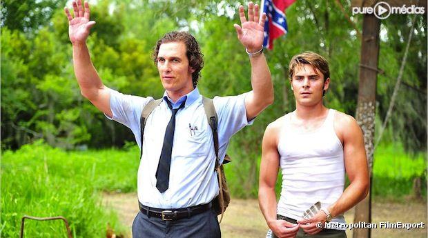 """Matthew McConaughey et Zac Efron dans """"Paperboy"""", en sélection officielle"""