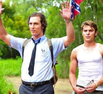 Matthew McConaughey et Zac Efron dans 'Paperboy', en...