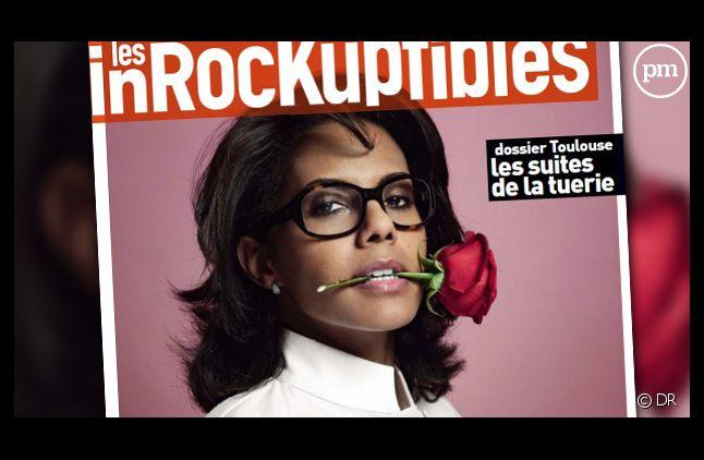 Audrey Pulvar en Une des Inrocks... Et désormais patronne du magazine.