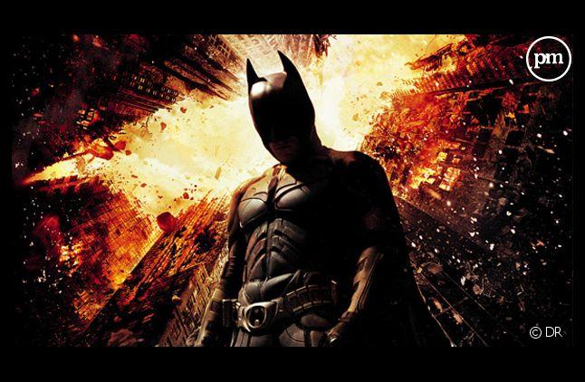 "L'affiche du film ""Batman : The Dark Knight Rises""."