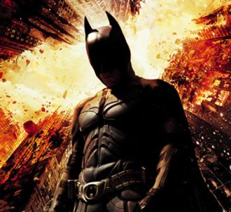L'affiche du film 'Batman : The Dark Knight Rises'.