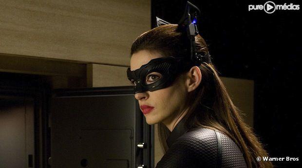 Anne Hathaway, dans la peau de Catwoman
