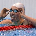 La Française Camille Muffat aux Jeux Olympiques 2012