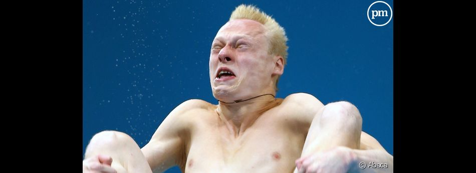 Le Russe Ilya Zakharov aux Jeux Olympiques de Londres