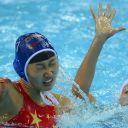 La Chinoise Huizi Sun aux Jeux Olympiques de Londres