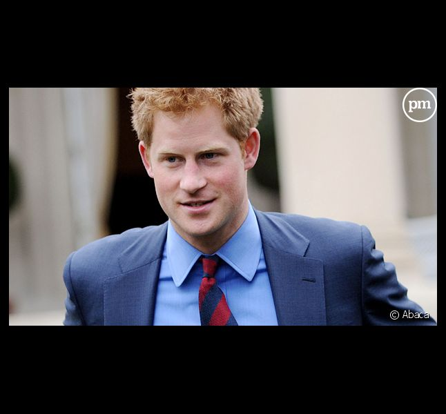 Le prince Harry... habillé.